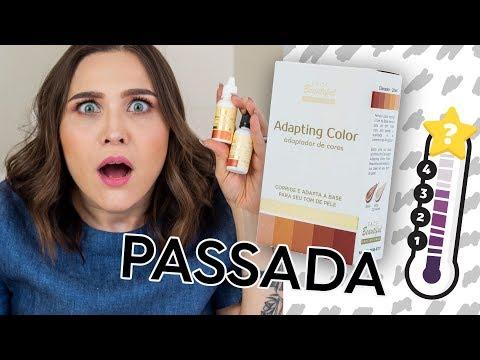 CHATÔMETRO Adapting Color Face Beautiful ADAPTADOR DE COR DE BASE | Lu Ferreira