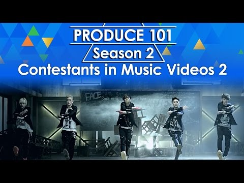 Produce 101 Season 2 - Contestants in Music Videos 2