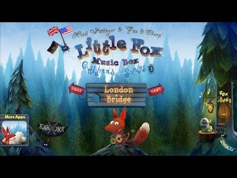 Little fox children's songs -