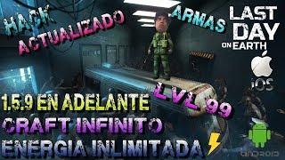 LAST DAY ON EARTH 1.5.9 HACK BIEN EXPLICADO MONEDAS Y ENERGIA ILIMITADA,CAFT INFINITO,MOTO COMPLETA