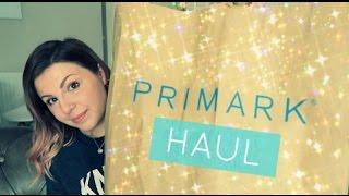Primark Haul / Pre-Disney Holiday Shopping