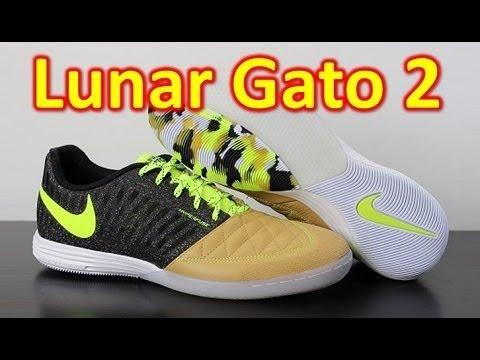 official photos 631d6 8a499 Nike FC247 Lunargato 2 Balsa Volt Black - Unboxing + On Feet - YouTube