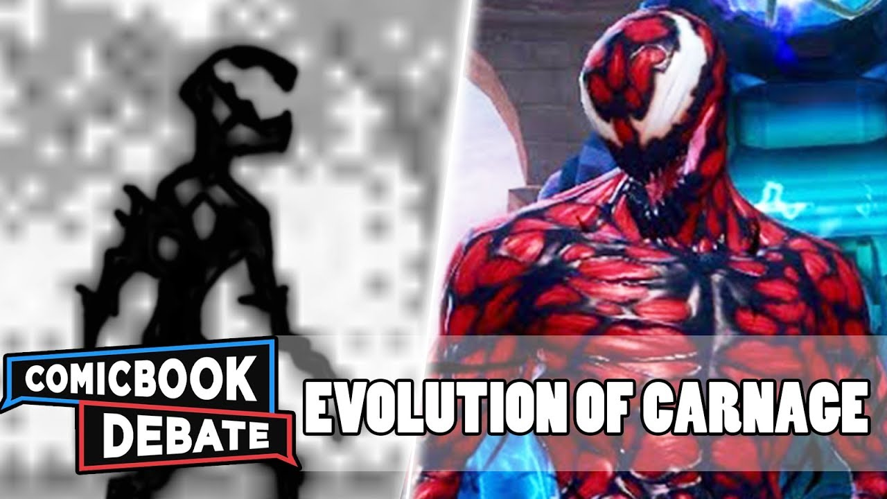 Evolution of Carnage in Games in 12 Minutes (2018)