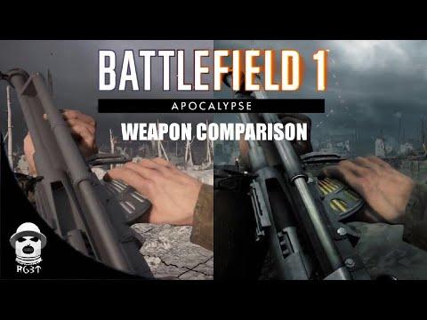 Battlefield 1 Apocalypse | Weapon Development Comparison