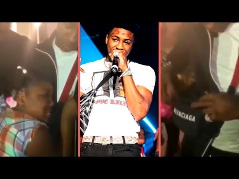 NBA YoungBoy Brings Little Girl To Tears and Gives Her All The Money He Has In His Bag