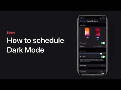 How To Schedule Dark Mode On Your IPhone, IPad, Or IPod Touch – Apple Support