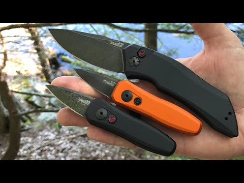 Kershaw Launch 4 in DAMASCUS & GIVE-AWAY of Kershaw Launch 1 | Full Auto EDC Knives