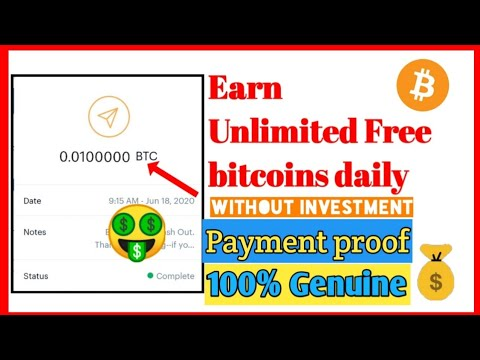 Earn free bitcoin without investment