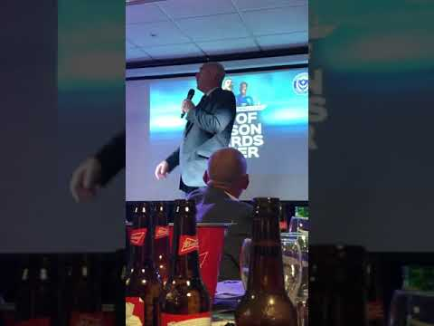 Bruce Grobbelaar After Dinner Speaking Portsmouth FC End Of Season Awards Dinner 24.04.19 (Part 2)