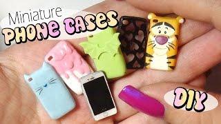 Cute & Easy Miniature Phone Case Tutorial // Doll/Dollhouse thumbnail