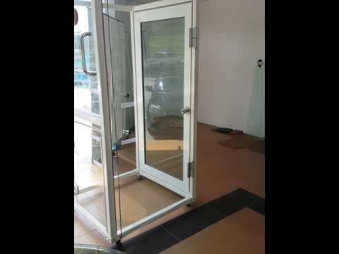 Gw Hydraulic Hinge For Glass Glass Door Youtube