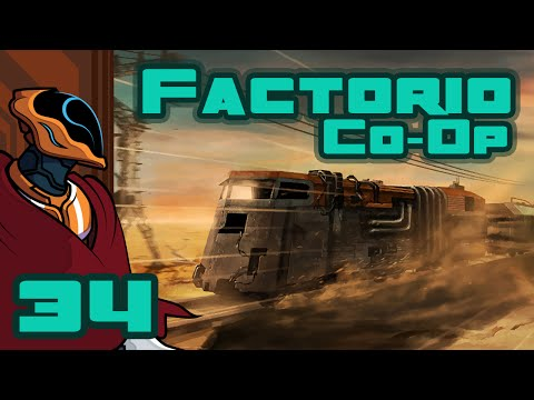 Let's Play Factorio Co-Op - PC Gameplay Part 34 - Blueprints Are Finnicky...