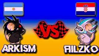 TRANSFORMICE | Arkism vs Fiilzko | RACING