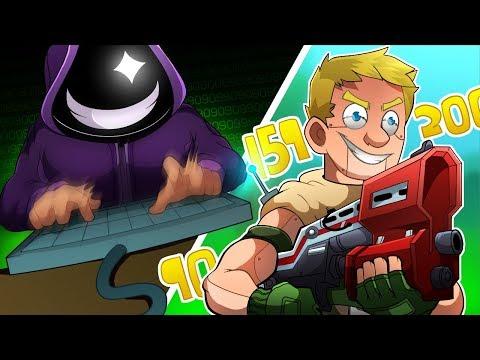 Insane HACKER gets BANNED? 💻 (Fortnite funny moments)