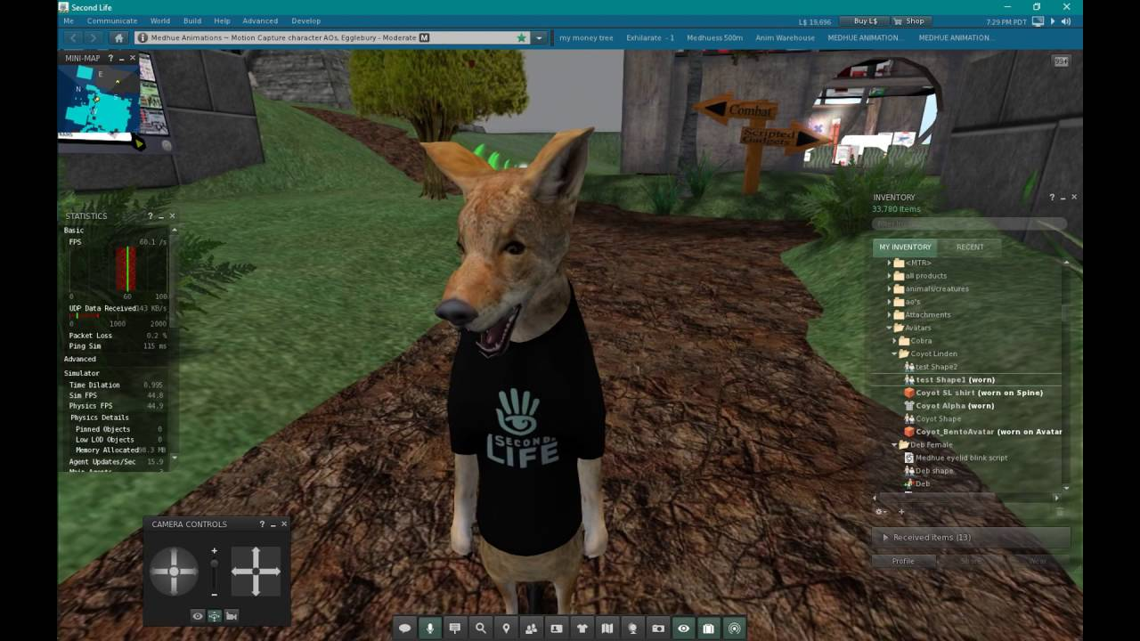 Second Life Bento Head Customization
