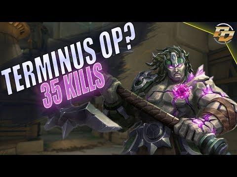 "Paladins: TERMINUS OP? ""35 KILLS"" Gameplay!"