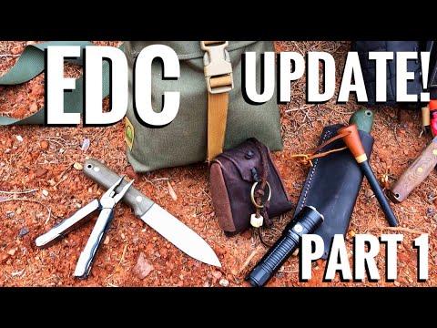 Winter EDC Update! Upgraded Knife, Multi-Tool, Flashlight, Haversack, Coat, Hat, Gloves!