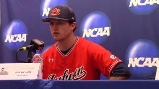 Auburn's Butch Thompson, Casey Mize and Josh Anthony Talk Super Regional Loss
