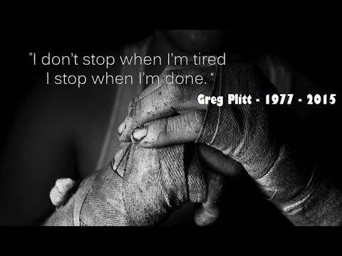 Greg Plitt - Willpower - New Year