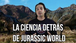 La ciencia detrás de jurassic world