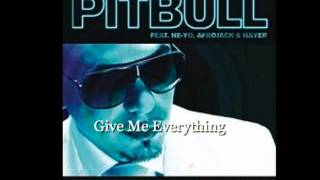 Give Me Everything Radio Edit