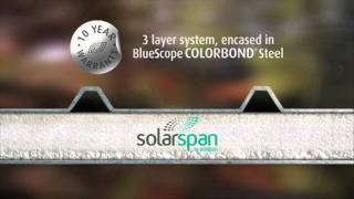 Solarspan Insulated Roof Panel System - Patio, Pergola, Shaded Structure And Roof