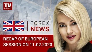 InstaForex tv news: 11.02.2020: USD to extend gains? Outlook for EUR/USD and GBP/USD.