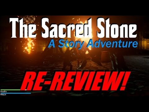 The Sacred Stone - A Story Adventure - Re-Review!  Surely It's Worth $4 Right?
