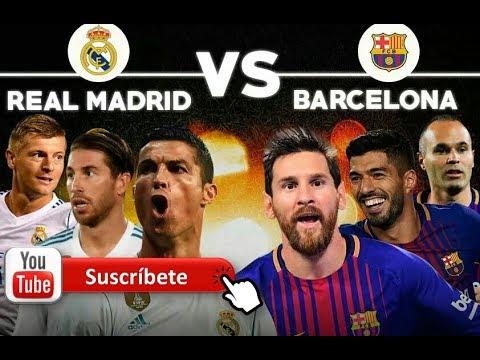 Real Madrid VS Barcelona / RADIO EN VIVO