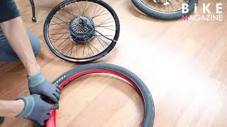 타누스 아머, 전기자전거 타이어에 장착해 펑크 없는 라…