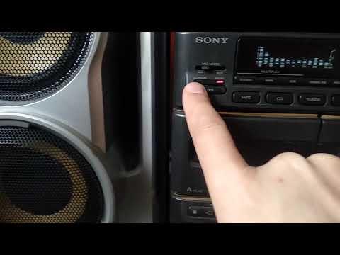 Музыкальный центр Sony FH-B1000, Hcd-h1000