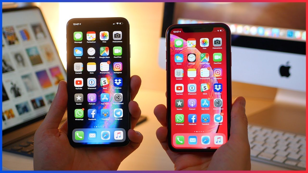 Iphone Xr Vs Iphone Xs Max Quale Scegliere Youtube