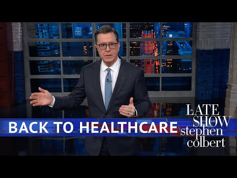 Trump Suddenly Remembers Healthcare Is A Thing