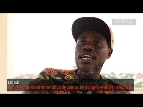 L'artiste engagé Max Heman ne fait pas de cadeaux aux protagonistes de la crise togolaise