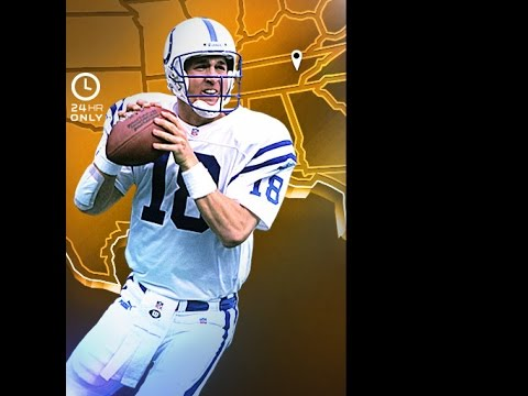 (88 Speed) Campus Tribute Peyton Manning | Player Review | Madden 16 Ultimate Team Gameplay