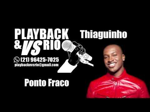 Ponto Fraco   Karaoke   Thiaguinho
