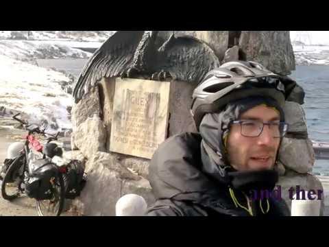 Bicycle touring Milan-Zurich Nov. 2017, Tremola Pass (Reupload)