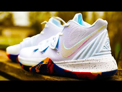 KYRIE 5 MARCH MADNESS COLORWAY REVIEW - PICKUP FROM KICKSNUTS