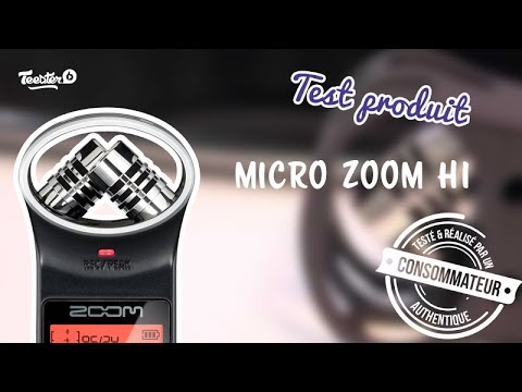 Test Produit Micro Zoom H1 Youtube