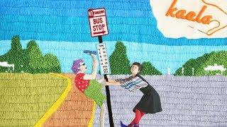 ツインテールにそばかすがチャームポイントの木村カエラがバス停で出会...
