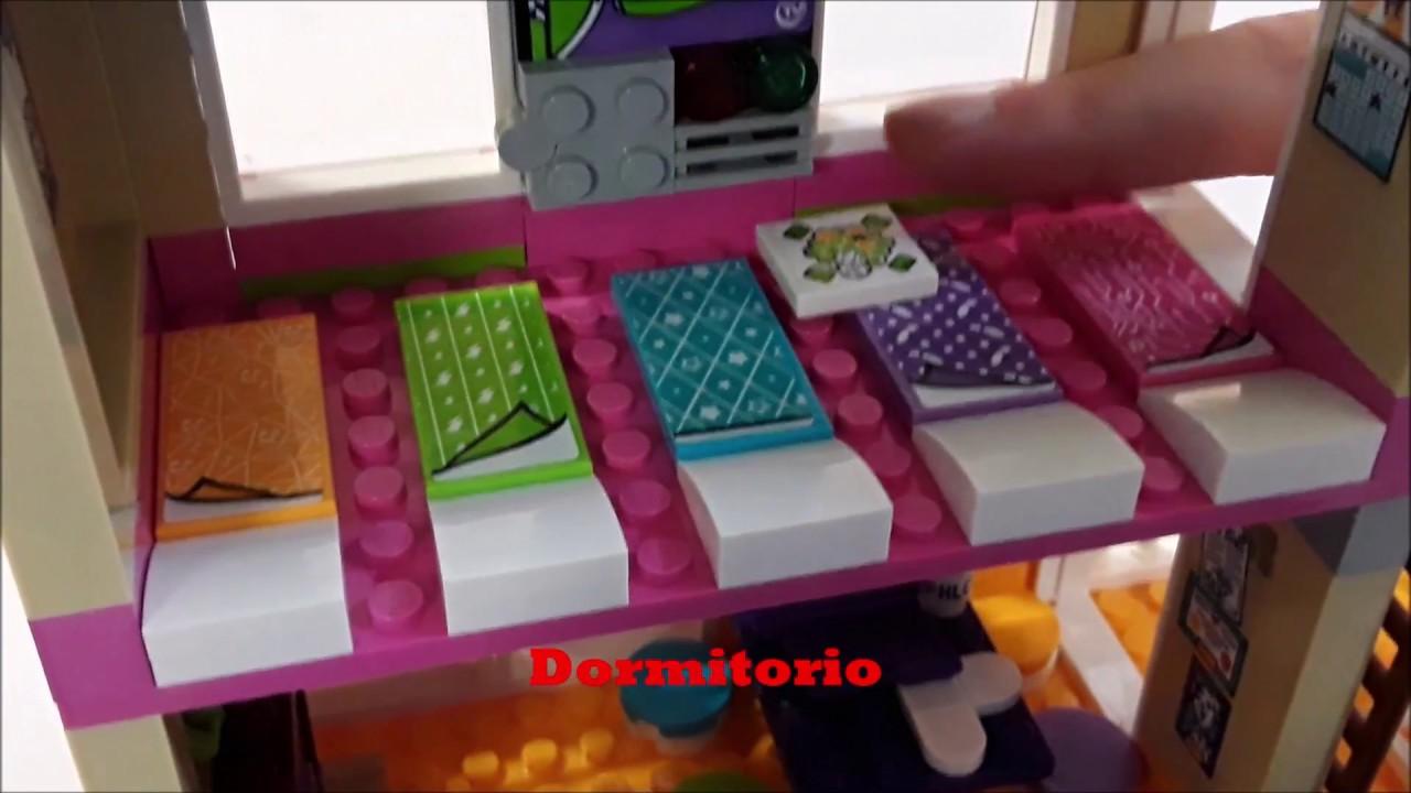 Lego Mundo Amistad Ep3Dormitorio El Sus Friends PiscinaLídia Juguetes Casa Y De tQdxhrCs