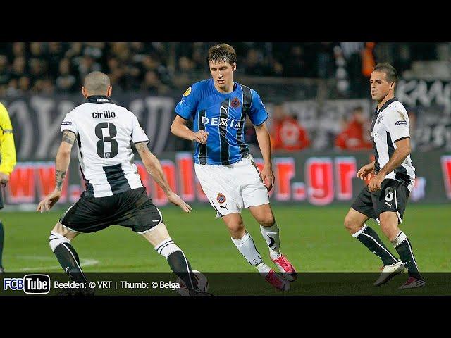 2010-2011 - Europa League - 07. Groep D Match 5 - Paok Saloniki - Club Brugge 1-1
