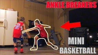 CRAZY MINI BASKETBALL GAME*ANKLES BROKEN* | NEA Blitzball