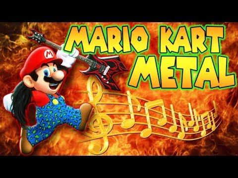 ♪ 'Mario Kart Metal' MARIO KART 8 Music Video - TryHardNinja