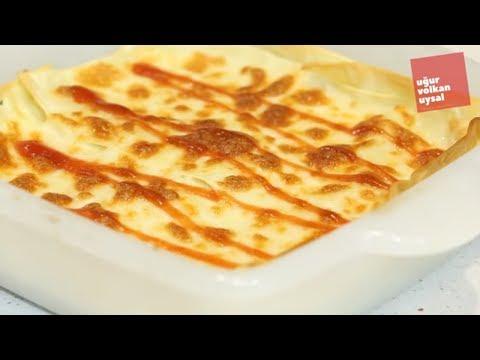 Lezzetli Kolay Lazanya Tarifi (Enfes Yemek Tarifleri)
