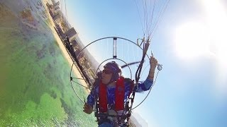 GoPro: Paramotor Over Dolphins