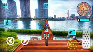 Extreme Real Bike Stunt Racing   Android Gameplay   Friction Games