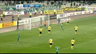 panathinaikos aek 0 2 goals highlights 19 1 2011