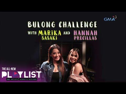 Playlist Extra: Bulong Challenge with Marika Sasaki and Hannah Precillas