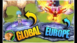 Are EU summoning rates better than GLOBAL? (Summoners War: Saturday Morning Summons)